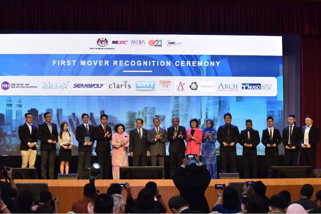 eMatrade first mover recognition 2